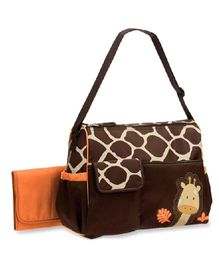 Magic Pitara Diaper Bag - Orange Brown