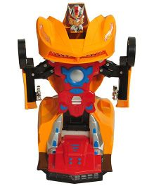 Magic Pitara 2 In 1 Transform Robot Car - Yellow