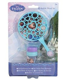 Disney Frozen Bubble Wand Set - Blue