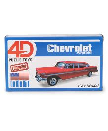 Collect Limousine Cars Chevrolet - Red
