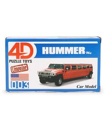 Collect Limousine Cars Hummer - Red