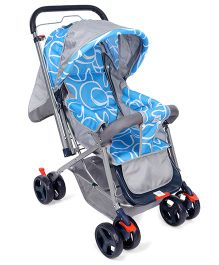 Mee Mee Stylish Pram MM20 - Blue Purple