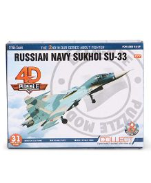 Collect Fighter Planes Russian Navy Sukhoi SU 33 - Grey