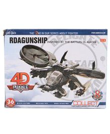 Collect Fighter Planes Rdagunship Green - 36 Pieces
