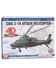 Collect Fighter Planes Caic Z 10 Attack Helicopter - Green