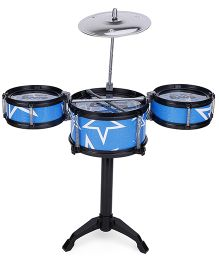 Fab And Funky Jazz Drum Set - Blue