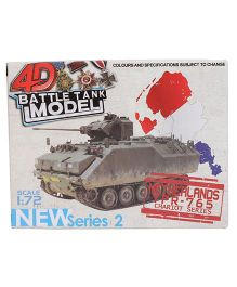 Collect Battle Tanks Series 2 Netherland - Green