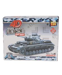 Collect Battle Tanks Series 1 Medium Tank Brown - 28 Pieces