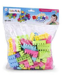 Building Blocks Game Multicolor - 155 Pieces