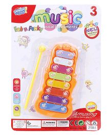 Xylophone Musical Toy - Orange & Multicolor
