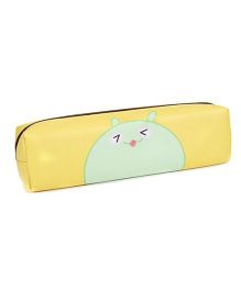Pencil Pouch Animal Print - Yellow