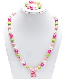 D'Chica Chic Beaded Jewelry Set - Multicolour