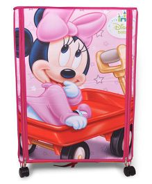 Disney Wonder Cub Storage Almirah Small Minnie Print - Pink