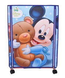 Disney Wonder Cub Storage Almirah Small Mickey Print - Blue