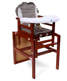 Mee Mee High Chair - Brown
