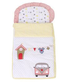 Babyoye Nest Bag Picnic Patch - Yellow White