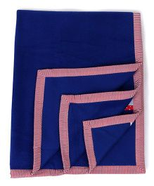 Babyoye Blanket Transport Print - Blue