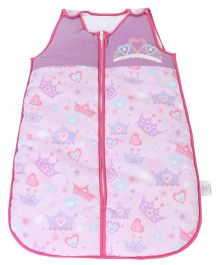Babyoye Sleeping Bag Little Diva Print - Pink