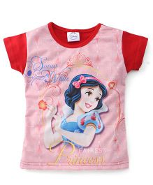 Eteenz Disney Princess Print Top - Red