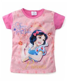Eteenz Disney Princess Print Top - Pink