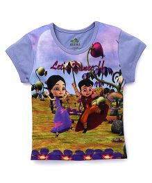 Chhota Bheem Half Sleeves T-Shirt Lets Dance Print - Multicolor