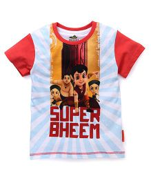 Chhota Bheem Half Sleeves T-Shirt - Multicolor