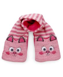 Mothercare Scarf Kitty Design - Pink