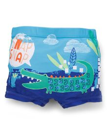 Mothercare Swimming Trunks Crocodile Print - Multicolor