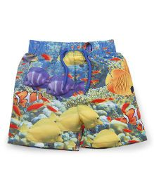Mothercare Swimming Trunks Allover Print - Multicolor