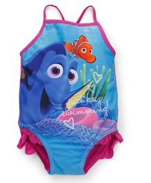 Mothercare Singlet Swimsuit Finding Dory Print - Blue