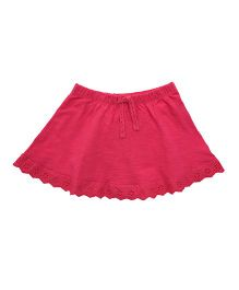 Mothercare Solid Color Skirt With Drawstring - Pink