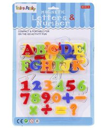 Magnetic Alphabets & Numbers - Multi Color