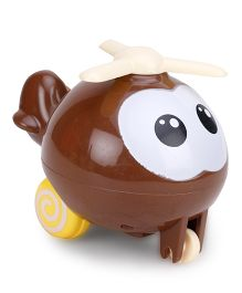 Helicopter Baby Toy - Brown