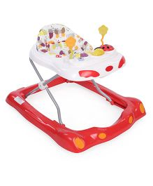 Graco Garden Friends Musical Walker - Red And White