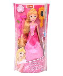 Funskool Disney Princess Aurora's Long Locks With Fashion Accessories - Pink