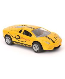 Sunny Die Cast Metal Car Toy - Yellow