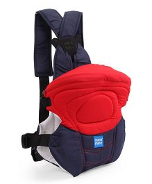 Mee Mee 6 In 1 Safe And Stylish Baby Carrier - Red Navy