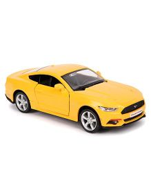 RMZ Ford Mustang 2015 Die-Cast Car - Yellow