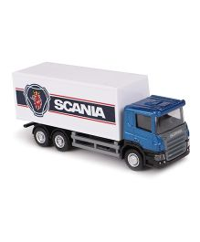 RMZ Scania Container Truck Toy - Blue White