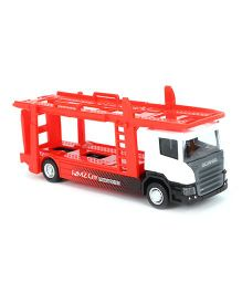 RMZ Transporter Truck Toy - Red White