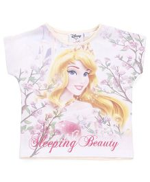 Chemistry Short Sleeves Top Sleeping Beauty Print - Multi Color
