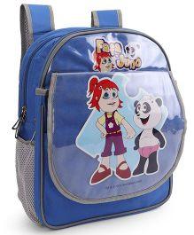 Pep India Fafa And Juno School Bag Blue - 14 Inches