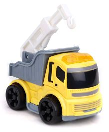 Kids Construction Truck Toy - Yellow & Grey