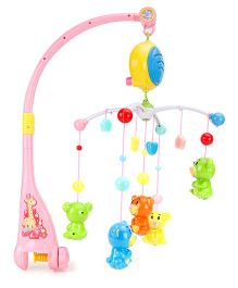 Battery Operated Musical Cot Mobile - Multicolour
