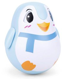 Roly Poly Penguin - Blue
