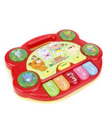 Baby Musical Keyboard - Red
