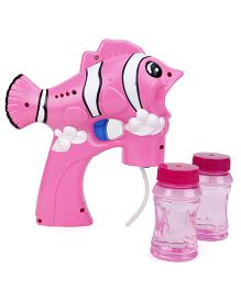 Bubble Gun Fish Shape - Pink