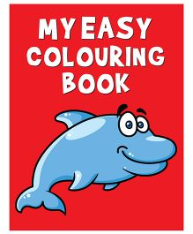 My Easy Coloring Book - English