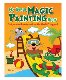 My Super Magic Painting Book - English