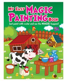 My Easy Magic Painting Book - English